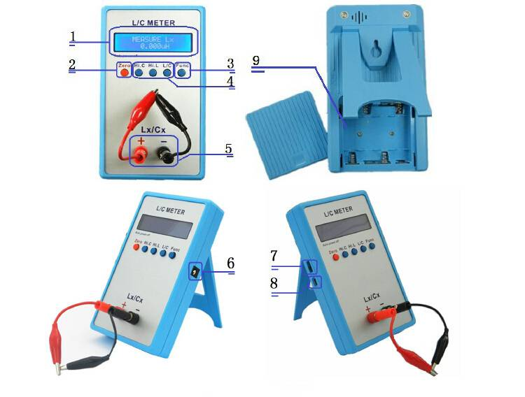 Inductance Meter Adapter