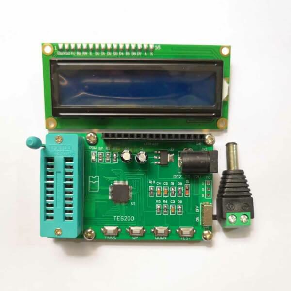 Integrated Circuit Chip Tester IC Tester Checker Kit