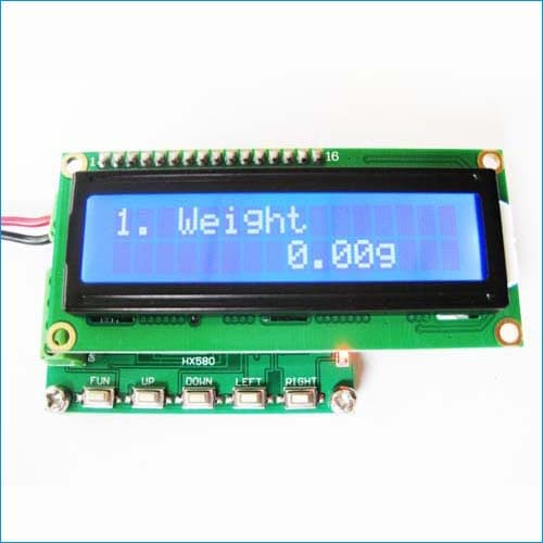 Load cell signal meter