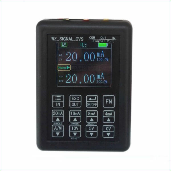 Handheld Current Voltage Signal Generator Analog Simulator Output 0-10V 0-20mA