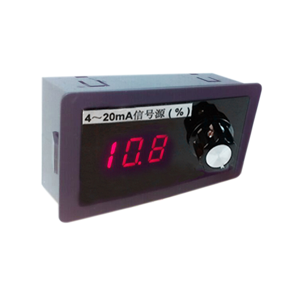 Panel Mount 4-20mA Signal Generator with Percentages