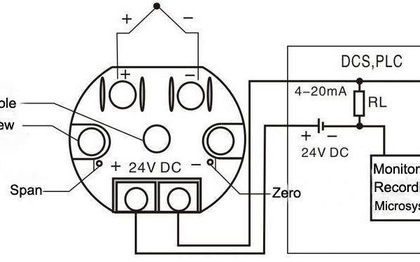Thermocouple to 4-20mA Converter Circuit