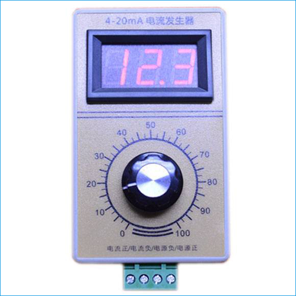 Pocket Size 4-20mA Current Generator