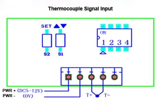 rtd thermocouple panel meter temperature panel meter. Black Bedroom Furniture Sets. Home Design Ideas