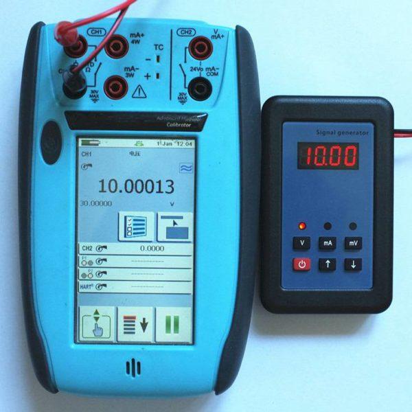 0-10V Analog Simulator and Signal Generator Calibrator