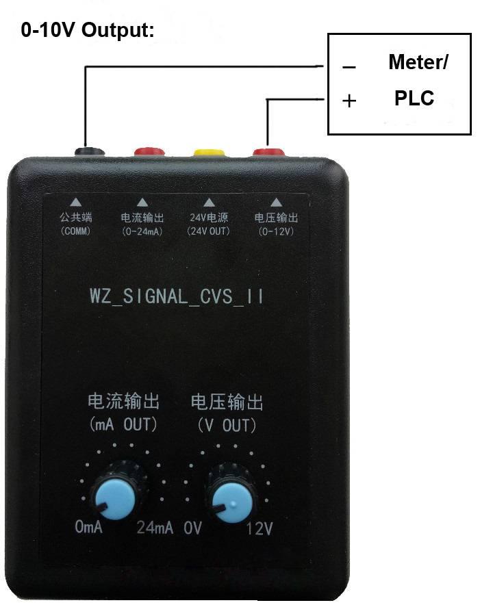 Signal Generator Calibration Output : V signal generator simulator brightwin