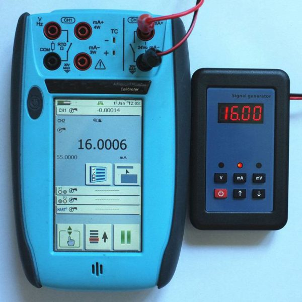 0-16mA Analog Signal Simulator Generator and Calibrator