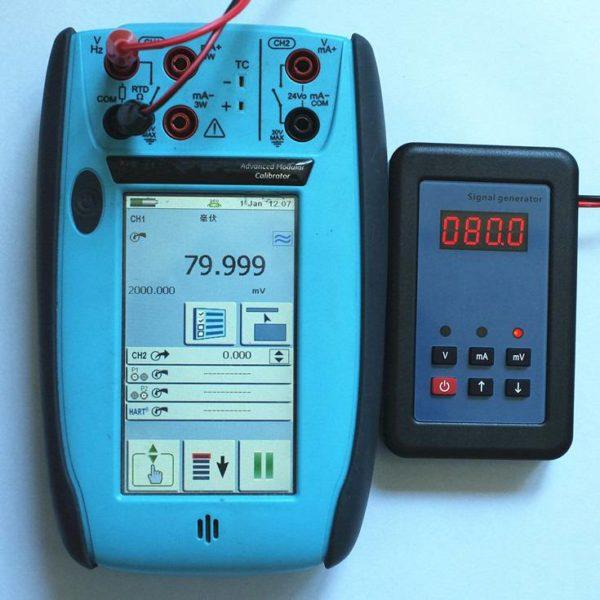 80mv Analog Simulator Generator and Calibrator