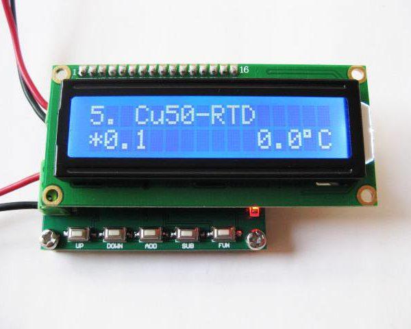 RTD Cu50 Simulator Calibrator