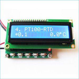 RTD PT100 Simulator Calibrator, CU50 PT100 Signal Generator Circuit, PT100 Calibrator