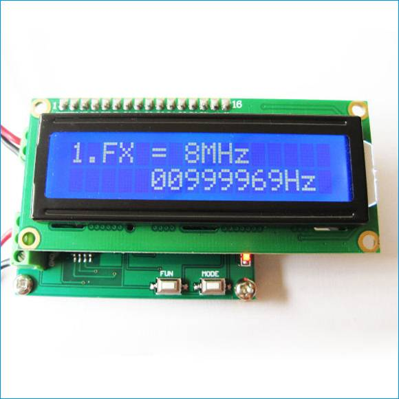 Digital frequency counter circuit diy kit
