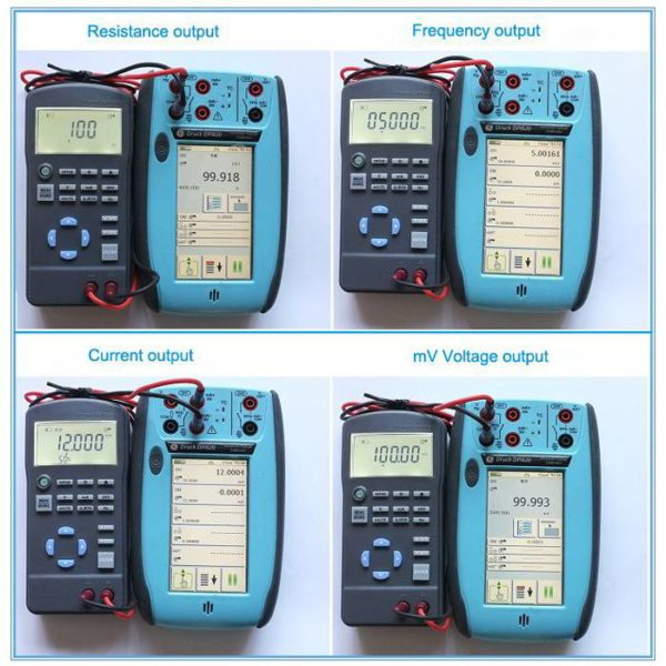 High accuracy multi function calibrator