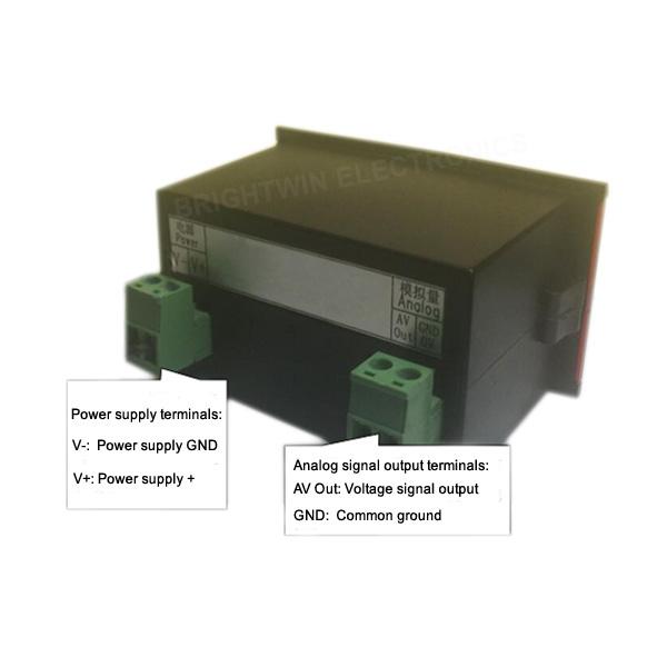 3.3V 5V 10V Signal Generator Controller Wiring Circuit