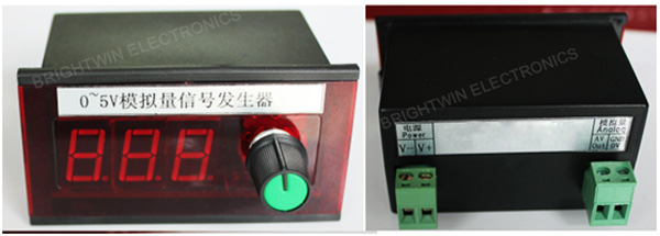 3.3V 5V 10V Voltage Signal Generator Controller China