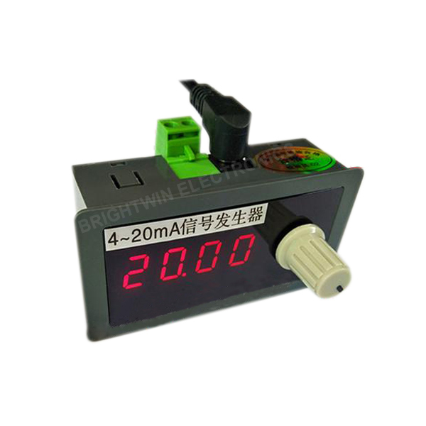 DC 4-20mA Current Generator Tester Panel Mount