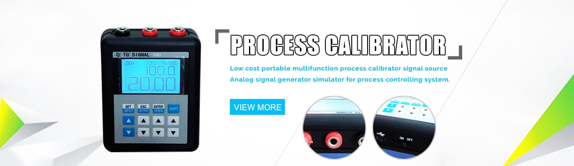 Multifunction Process Calibrator for 4-20mA mV Thermocouple