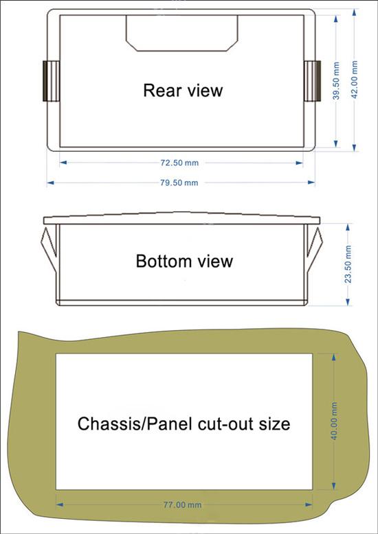 0-3.3V 0-5V 0-10V Simulator Generator Size