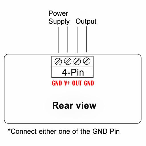 DC 0-3.3V 5V 10V Signal Generator Wiring Circuit