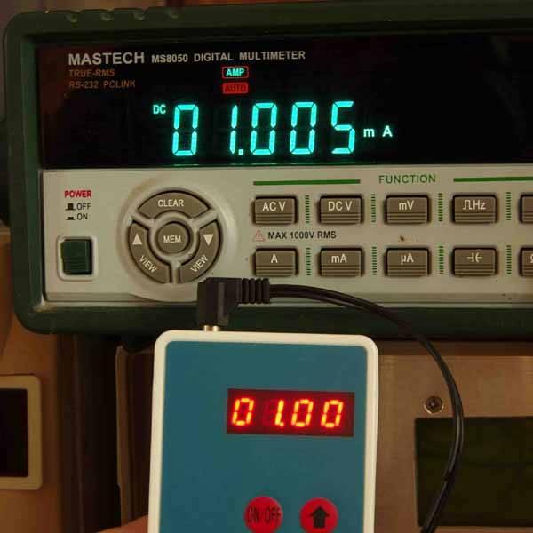 1mA Signal Simulation Output