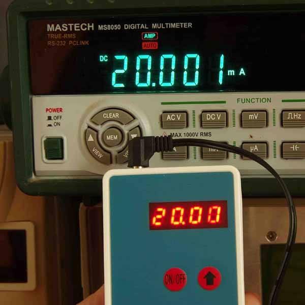 20mA Signal Simulation Output